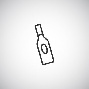 glass bottle for liquid icon