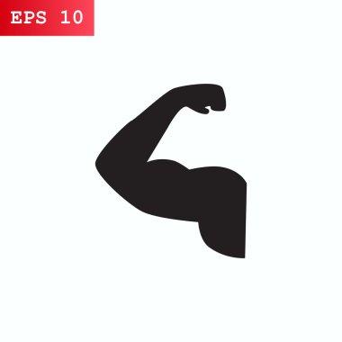 Gym icon, illustration