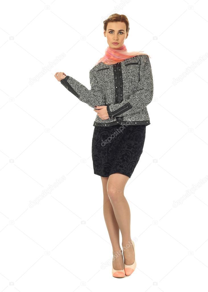 Sexy blonde teacher