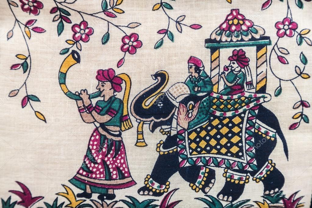 Foto di reticolo a mano orientale tessile ricamato con for Piani di progettazione domestica indiana con foto