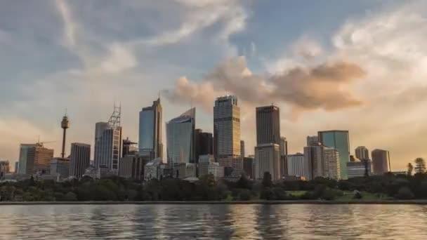 Sydney-Sunset. Blick von der Bucht