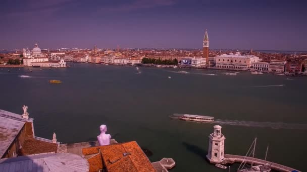 View of the City of Venice. Beautiful Architecture.