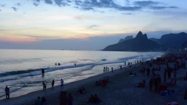 Rio de Janeiro pohled na pláž