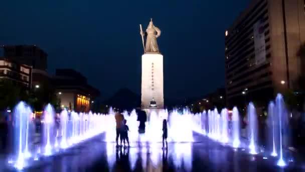 Statue of Admiral yi Sun Shin in Seoul
