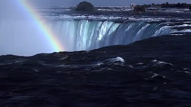 Duha nad vodami Niagarské vodopády