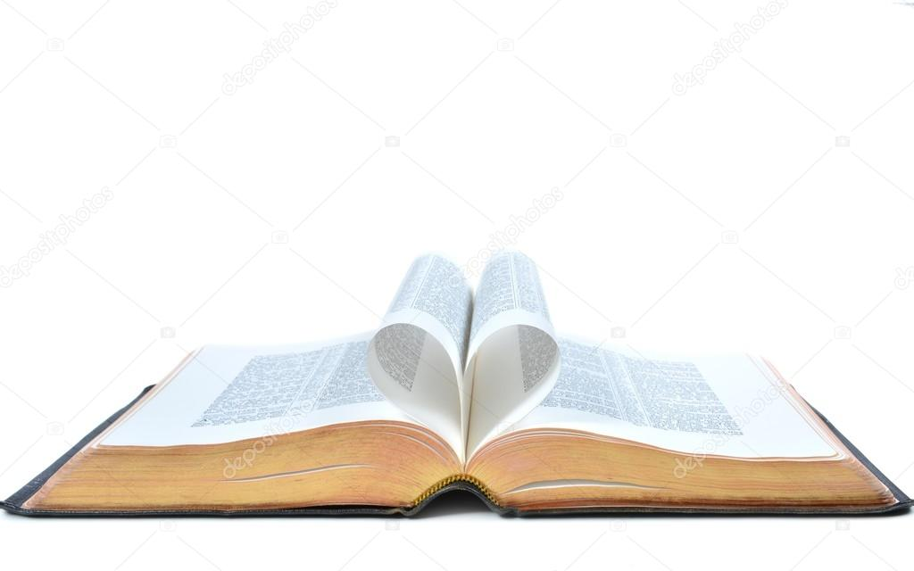 Imágenes Biblias Cristianas Abiertas Biblia Completa Con Corazón