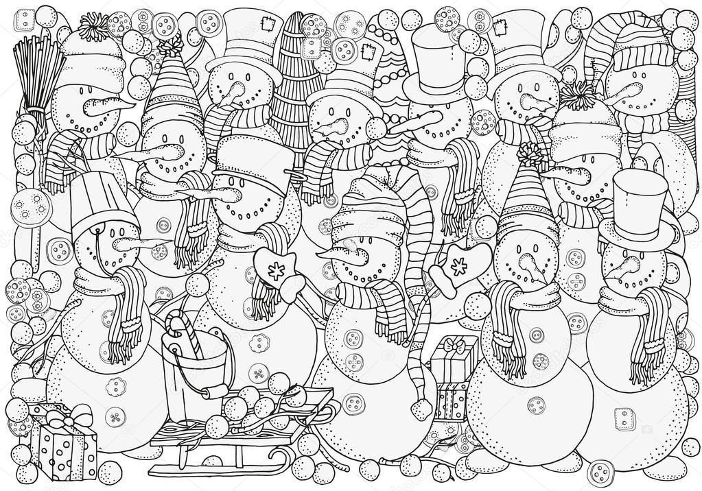 Imágenes Navidad Y Año Nuevo Para Colorear Feliz Navidad Feliz
