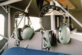 Pilotní radio sluchátka
