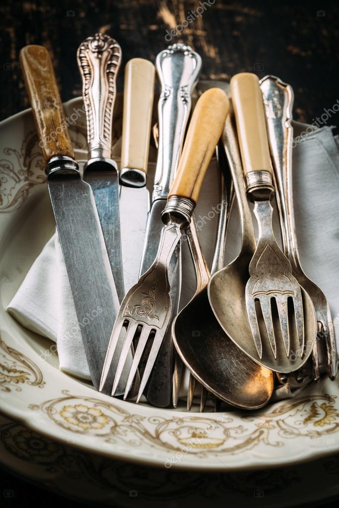 vecchi utensili da cucina — Foto Stock © stocco.claudio.libero.it ...