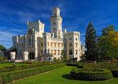 krásný renesanční zámek Hluboká