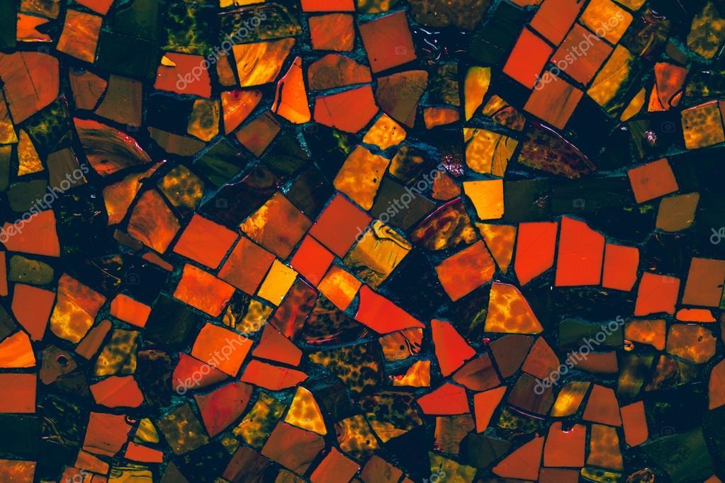 Piastrelle di ceramica colorata depoca decorazione murale u2014 foto