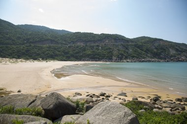 Vietnam Phu yen Bay with a wild beach