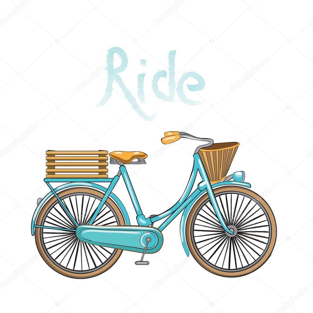 Vintage bike baskets