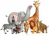 Fotografia animale selvatico nel gruppo