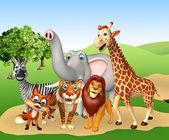 Fotografie group of wild animal