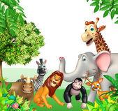 skupina divokých zvířat