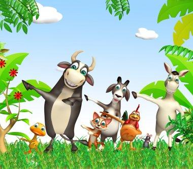 group of farm animal