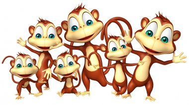 group of Monkey collection