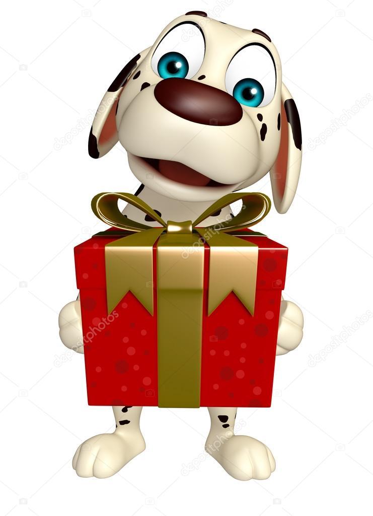 Carino cartone animato osso cane il portare carino collo