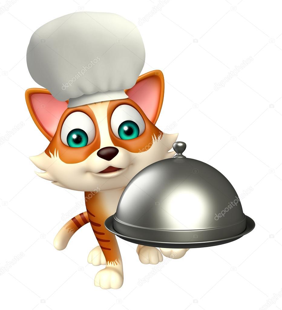 Nuovo cartone animato spilla mini arancione bianco gatto kitten
