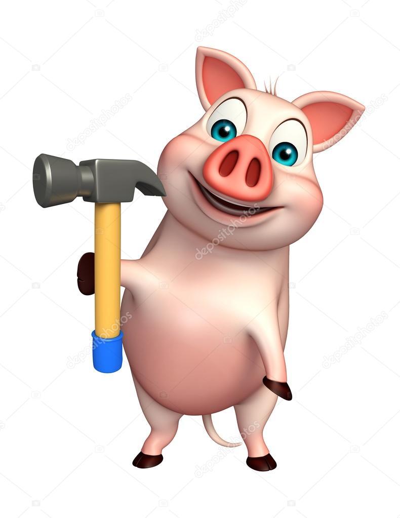 свиньи строители прикольные картинки минска
