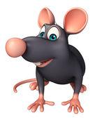 Fotografie legrační Rat kreslená postavička