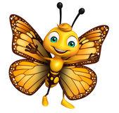 Fotografia puntamento personaggio dei cartoni animati di farfalla