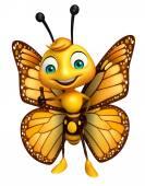 Fotografia Evviva il personaggio dei cartoni animati di farfalla
