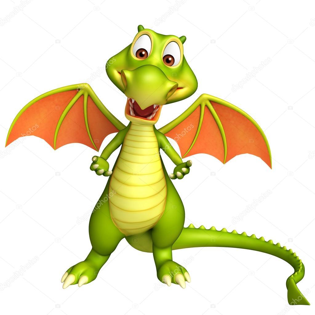 Dibujos Dragones A Lapiz Lindo Personaje De Dibujos Animados