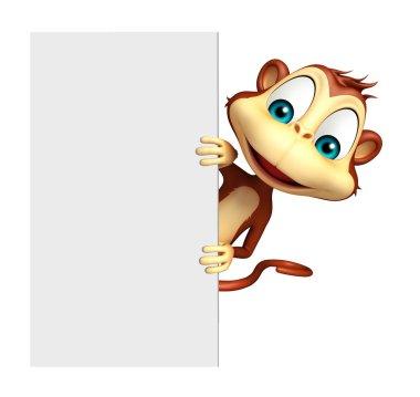 fun Monkey cartoon character
