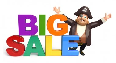 Pirate with  Big sale