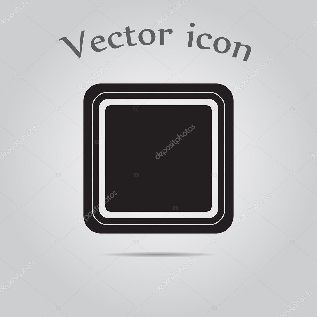 Elektrische Schalter ein Tasten — Stockvektor © SableVector #104085338