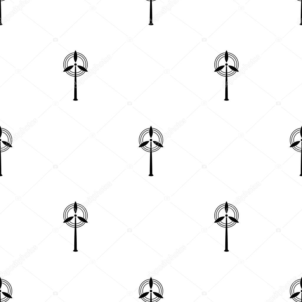 Wind energy icon  Efficiency electric, generator air