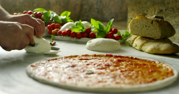 best italian pizza very nice made in professional and original old tradition recipe with oil biological in extreme slow motion pizza