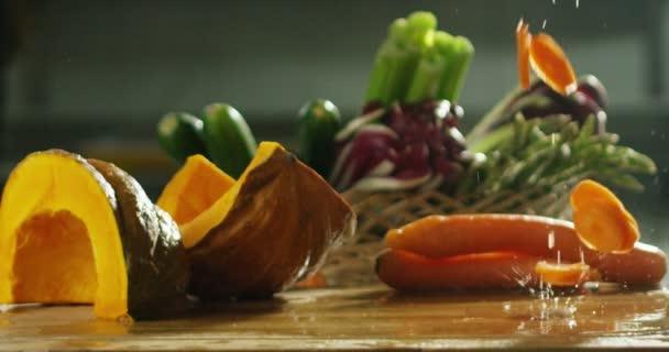 tökéletes összetétel a frissesség és egészség élelmiszer, olasz konyha sárgarépa