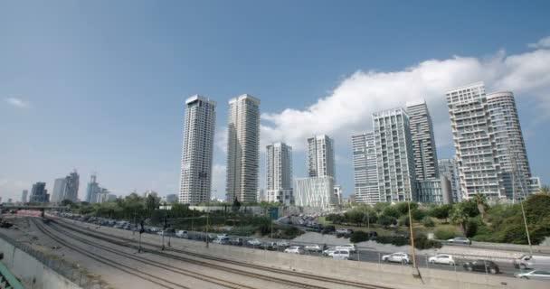Časová prodleva, výšková budov v Tel Aviv, Izrael