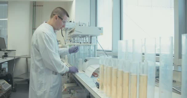 Pharmacist working at pharma company