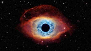 Eye of God in nebula Helix