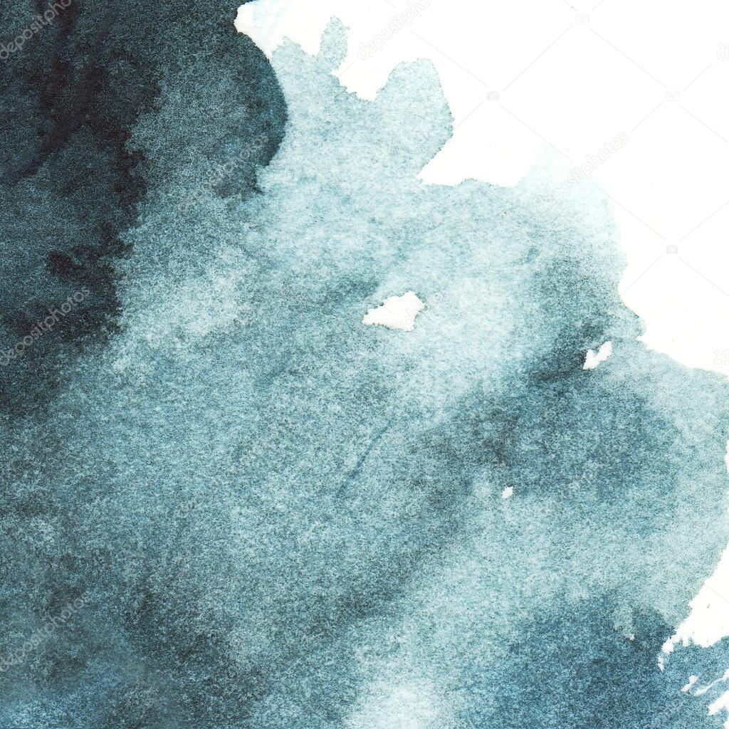 dark blue watercolor abstract background spot indigo stock photo. Black Bedroom Furniture Sets. Home Design Ideas