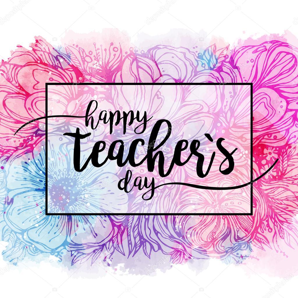 плакат на день учителя картинки