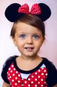 Fotografie dítě v ateliéru