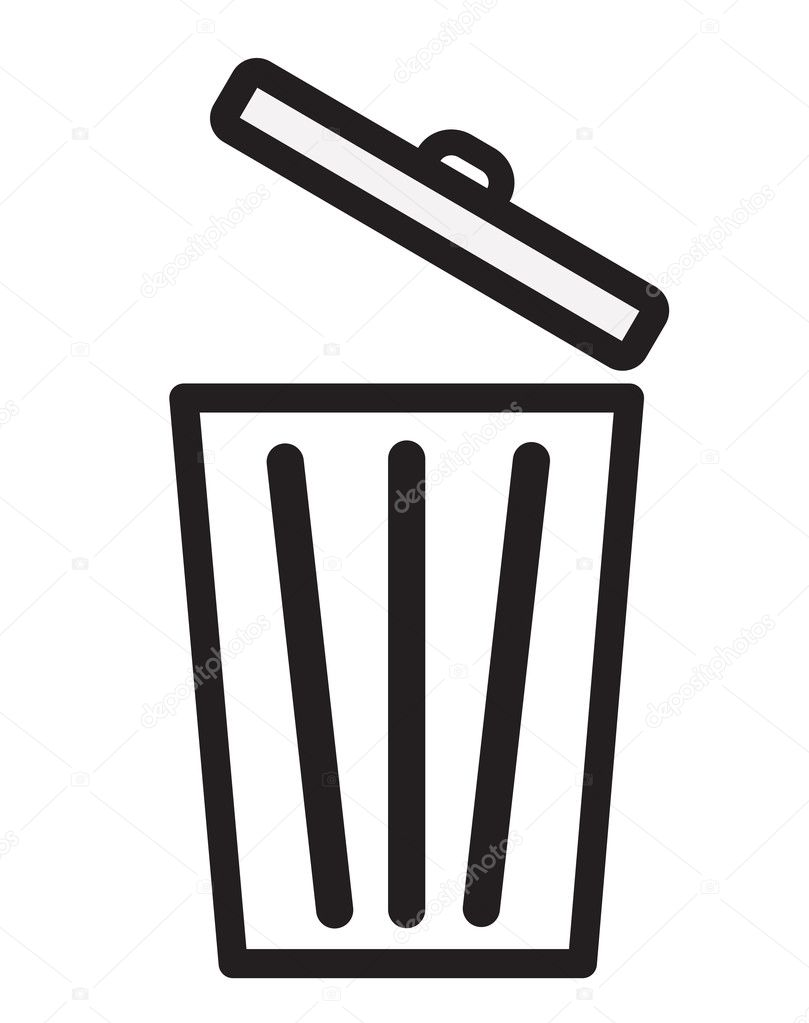 Trash icon, Bin icon ⬇ Vector Image by © drsuthee.hotmail.com | Vector  Stock 121739470