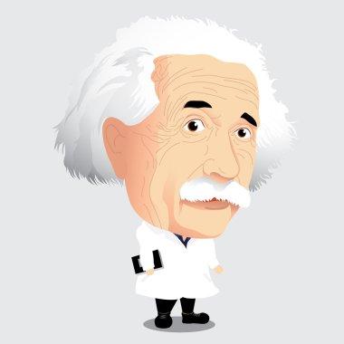 Vector illustration - Albert Einstein