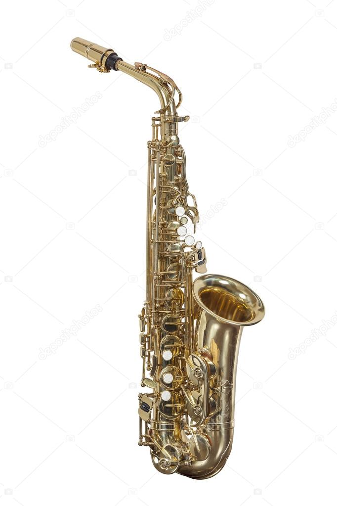 фото саксофон музыкальный инструмент