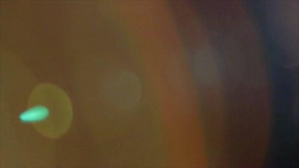 Světelný přechod objektivu Flare světlo úniky překryvy