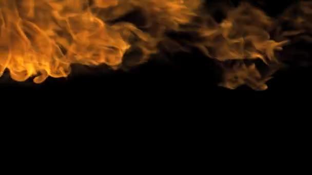 Požární Performer foukat oheň zprava