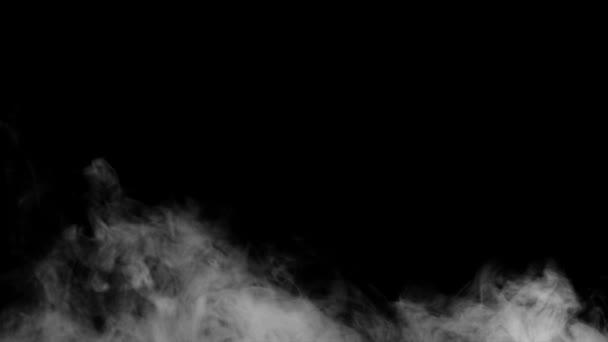 Fire Smoke From Bottom Up Black Background Stock Video C Dianaopryshko 114546064