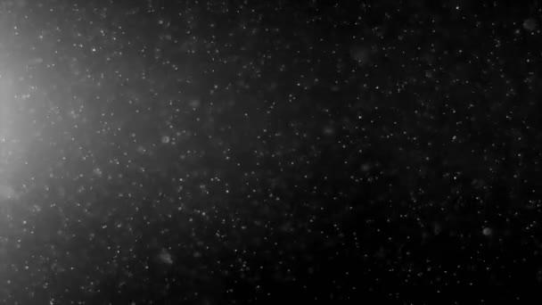 Abstraktní světlo a prachových částic