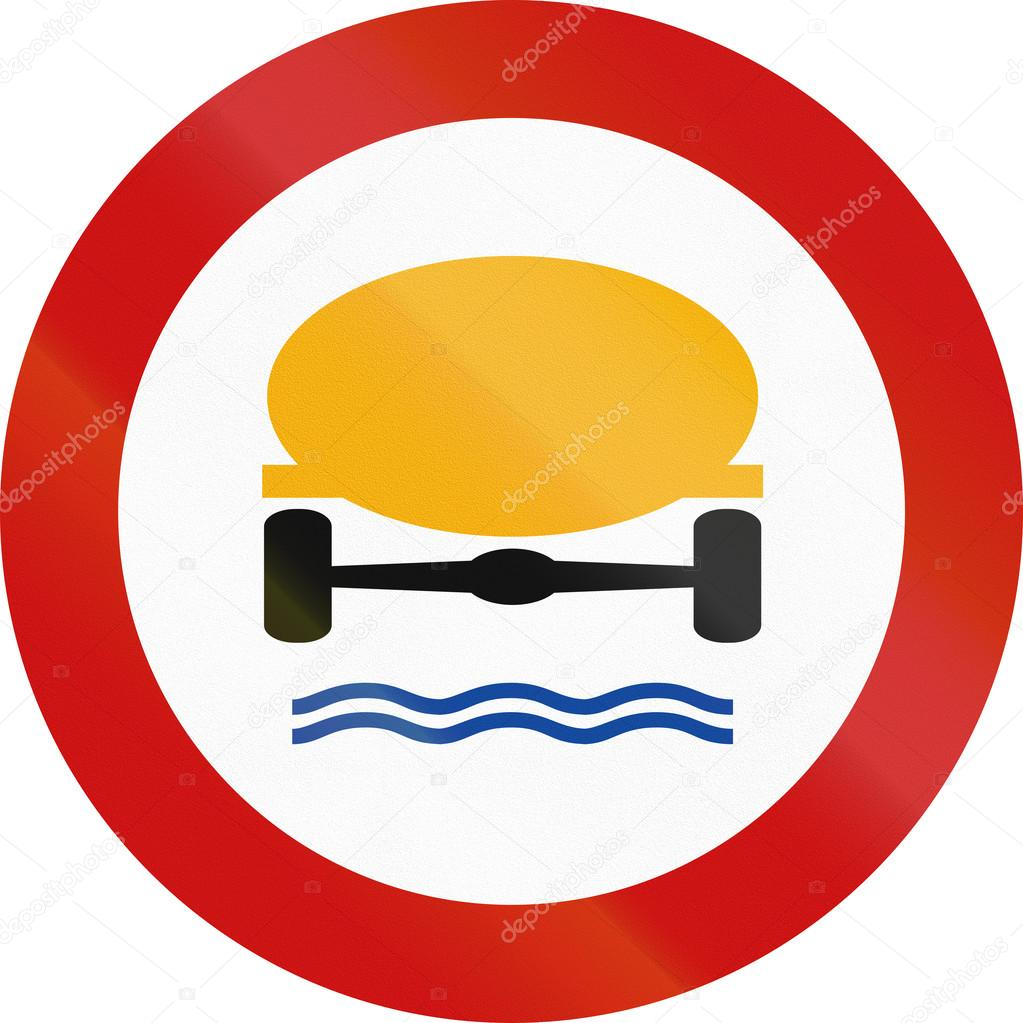 No Goods Dangerous To Water Reserves In Greece — Stock Photo