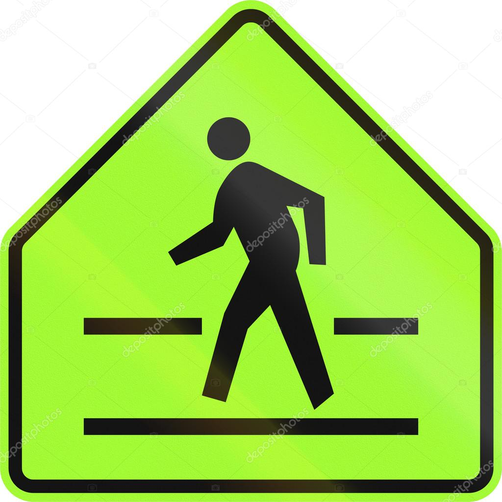 Road sign in the philippines pedestrian crossing sign stock road sign in the philippines pedestrian crossing sign stock photo buycottarizona Image collections